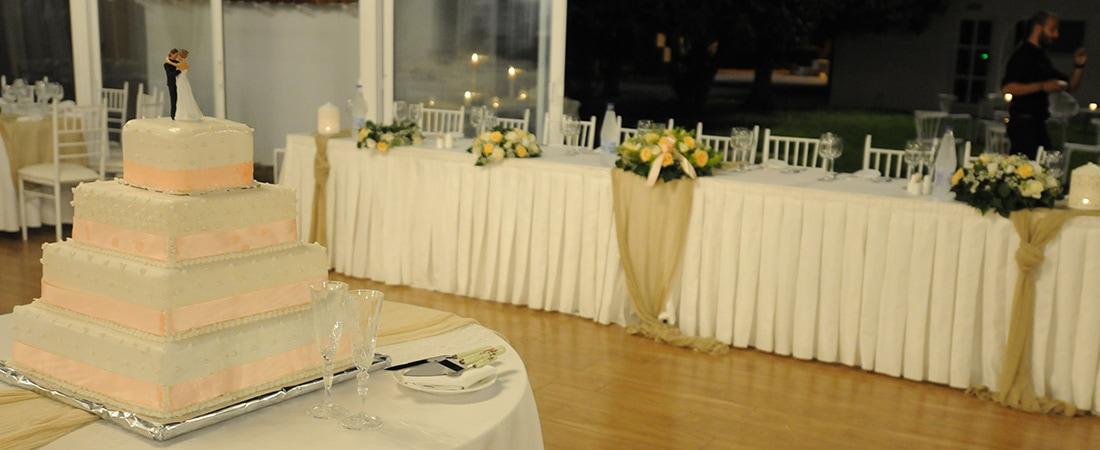 Χώρος δεξίωσης γάμου